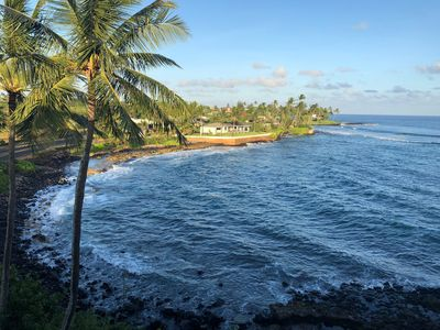 Photo for Ocean View Condo in Sunny Poipu with A/C