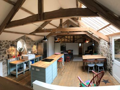 Photo for Stunning,  historic two bedroom Coach house with private garden on Dartmoor