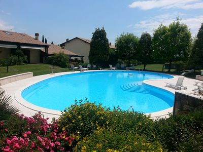 Photo for SPACIOUS APARTMENT IN THE LOVELY A FEW MINUTES FROM LAKE GARDA