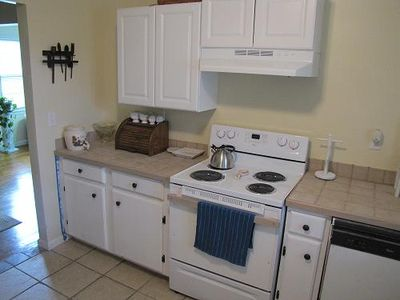 Very nice kitchen with brand new amenities
