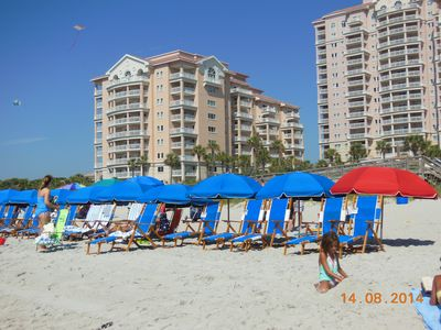Photo for Marriott OceanWatch Villas (2 bedroom, 2 bath luxury Oceanside Condo - sleeps 8)