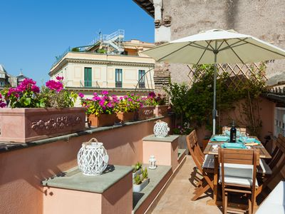Photo for NAVONA, CAMPO DE FIORI - Penthouse Terraced