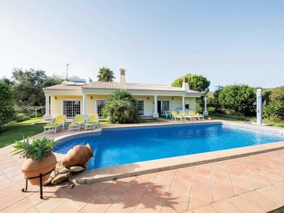 Photo for 3 bedroom Villa, sleeps 6 in Marcos Mendes with Pool, Air Con and WiFi