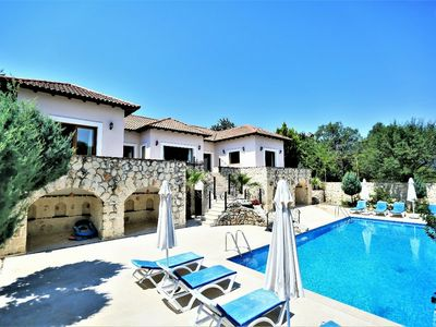 Photo for A beautiful Villa with large Infinity Pool and private, gated grounds