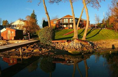 Photo for HOME - ON THE RIVER -  POOL & HOT TUB - ON the Niagara River Great View ! 3+BR