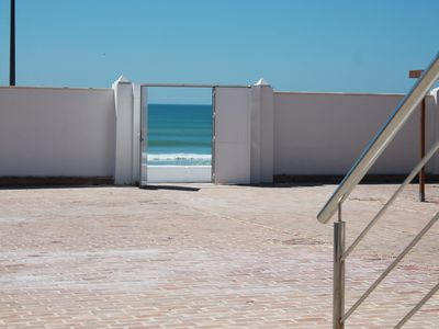 Photo for FIRST LINE BEACH APARTMENT, FREE WIFI, IDEAL FOR FAMILIES