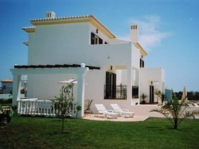 Photo for New Detached Villa With Full Air-Conditioning (No Extra Charge),A Private Pool,  Sea Views
