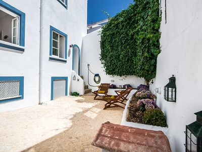 Photo for Lagos old town, Unique townhouse with large private patio, 2 bedrooms sleeps 4,