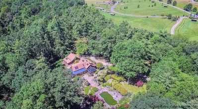 Photo for 75 acre Nature Retreat Farm: Cabins-Tents-Waterfalls-Pool-Hotub-Horses