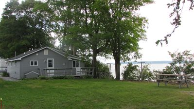 Photo for Fantastic Vermont shore Lake Champlain Cottage