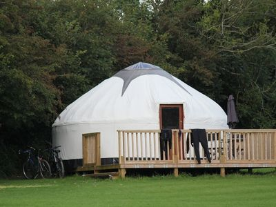Photo for Cornish Yurt with Hot Tub (3)