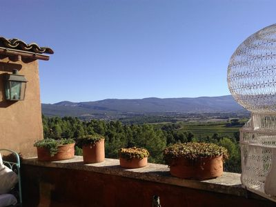"Photo for Roussillon: ""Les Terrasses"", house in the village"