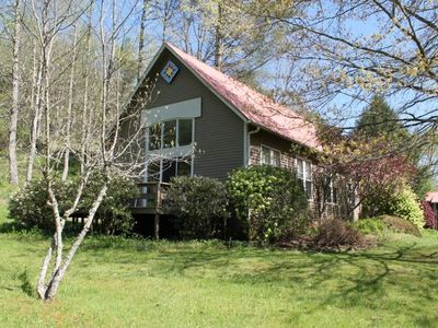 Photo for WATER!!!!out the door. Creekside Chapel, offers creek frontage, fishing and more