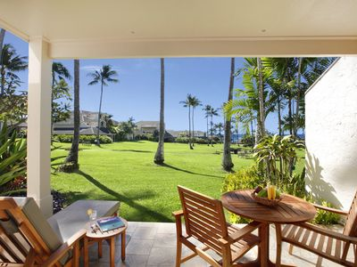 "Photo for Poipu Amazing Location Ocean View Ground Floor ""A/C Bedroom"" *Kahala 613*"