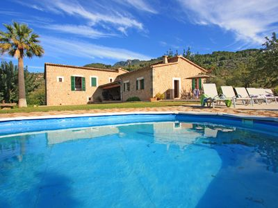 Photo for Es Joncaret, lovely villa with stunning views in Soller
