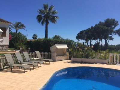 Photo for Family friendly villa in Elviria close to beach and views at sea and mountains!