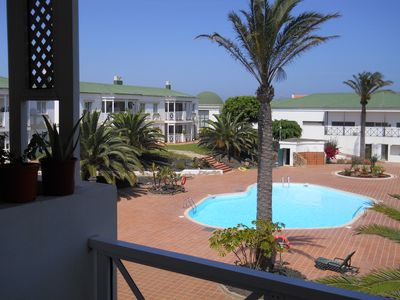 Photo for Pool view apartment - Corralejo