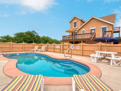 318 - Nags Head Water-Side Rental Home with Private Pool, Spacious Decking, and Well-Maintained I...