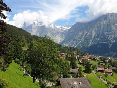 Photo for Apartment 778 m from the center of Grindelwald with Internet, Parking, Terrace (38443)