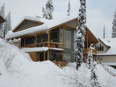 Photo for Great Ski in / Ski out, Fireplace and Private Hot  Tub.