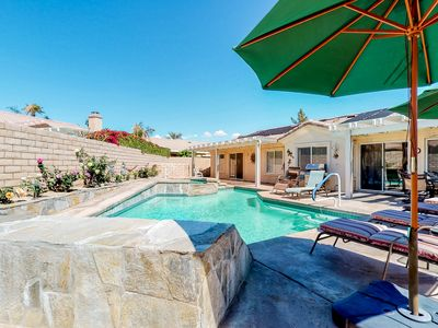 Photo for Newly upgraded home w/ private pool/spa, casita, & yard - close to festivals!