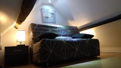 Photo for 1BR Cabin Vacation Rental in La Couture-Boussey, Normandie