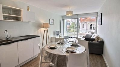 Photo for Le Touquet T2 completely renovated, parking, south balcony