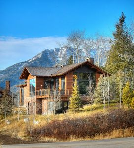 Photo for KABINO: Luxury Mountain Lodge at Jackson Hole Mountain Resort! Huge Views! 5 Stars...