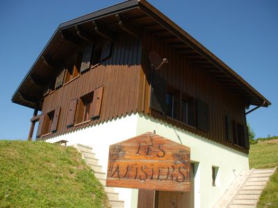 Photo for Chalet high Vosges 9 persons quiet comfortable to dennerie