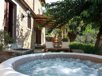Photo for Country House - Country house ideally located in front of the Chianti hills