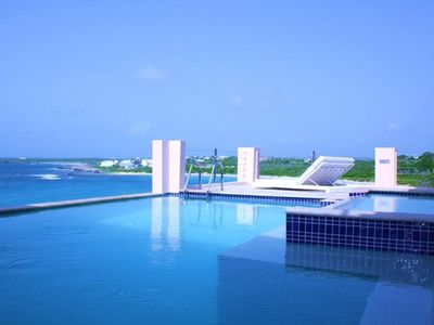 Photo for Luxury Villa 'B on the Sea' Oceanfront, 5 ensuite bedrooms,2 pools