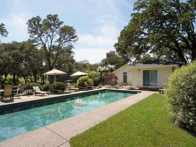 Photo for Chalk Hill Country Home on 10 Alexander Valley Acres w/ Pool