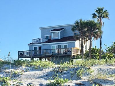 Photo for Private Beach Home On the Sands of the Gulf.  Can't get any closer to the Shore