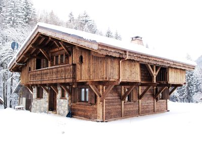 Photo for A beautiful hand crafted chalet