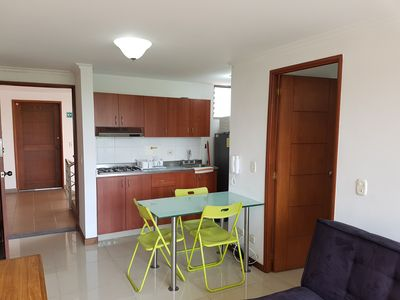 Photo for Apartment Furnished In San Juaquin 802 In The Heart Of Medellin