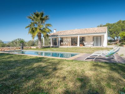 Photo for This 3-bedroom villa for up to 6 guests is located in Sencelles and has a private swimming pool, air