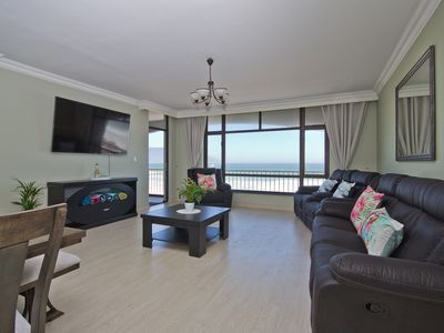 Photo for Holiday apartment with uninterrupted beach and mountain views