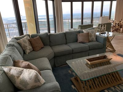 Photo for Stunning Phoenix West  II 4bd 4.5bath with Amazing view of Gulf @ 3 bedroom fee!