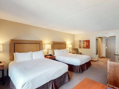Photo for Wonderful hotel room w/valley views, shared hot tub, steam room, pool, and more!