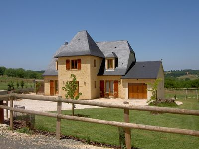 Photo for Stunning Luxury Dordogne Villa with Heated Pool, Jacuzzi, WiFi, Sleeps 10