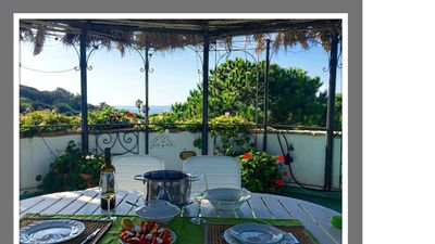 Photo for Villa Adelida, private, panoramic, a few steps from the sea.