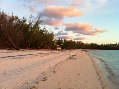Really on Gaulding Cay Beach, Only 3 property really on this fantastic Beach.