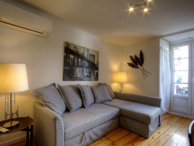 Photo for Beautifully renovated studio in the the historic district of Alfama.