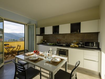 Photo for 1BR Apartment Vacation Rental in Civezza