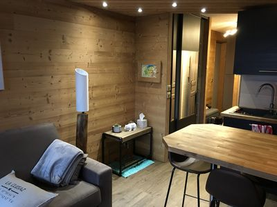 Photo for La Clusaz apartment completely renovated and furnished in 2018