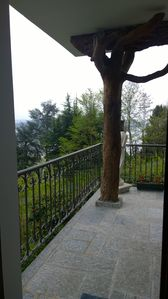 Photo for Apartment with panoramic terrace on the shores of Lake Maggiore