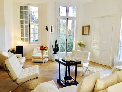 Photo for Luxurious & Stylish 120m2 Apartment Nice Center Terrace Gambetta 2 rooms / 4pers