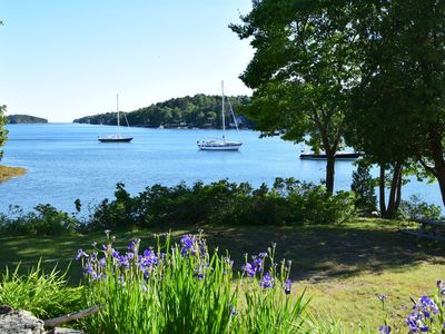 Photo for 180 Degree Oceanfront Paradise, Deep Water Dock, Mooring, Private, Close to town