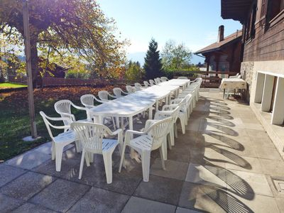 Photo for Vacation home Riant Soleil in Villars - 28 persons, 8 bedrooms