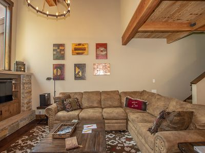 Photo for Exquisite 4br Corner Townhome just outside of Tahoe City. HOA Pool, Tennis, and Private sandy Beach!